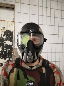 paintball bolesť